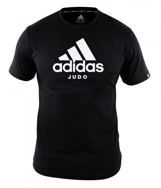 "adidas Community line T-Shirt Judo ""Performance"" black/white, ADICTJ"