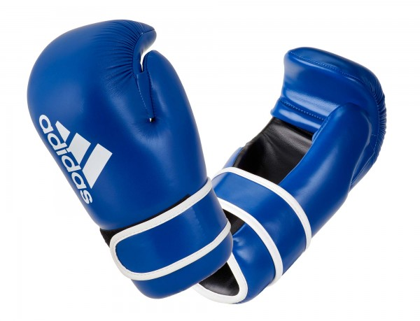 adidas Pro Point Fighter Handschuhe blue/white, adiKBPF100