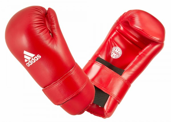 adidas Semi Contact Gloves - red, ADIWAKOG3