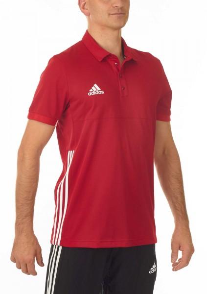 adidas T16 Team Team Polo Männer power rot /weiß AJ5279