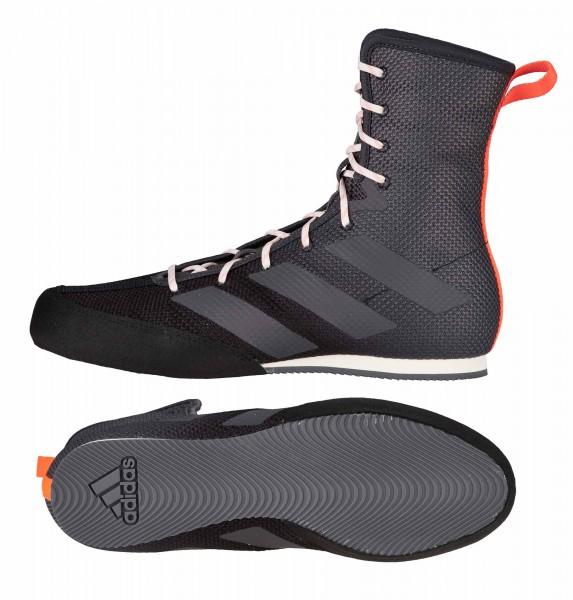 adidas Boxschuhe Box Hog 3 black/grey/red - FV6586