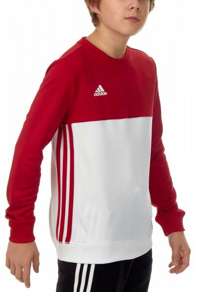 adidas T16 Team Sweater Kids power rot/weiß AJ5267