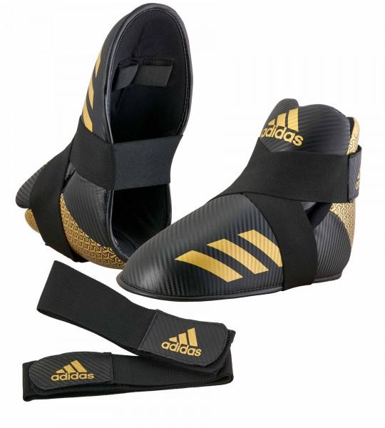 adidas Pro Kickboxing Fußschutz black/gold, adiKBB300HD