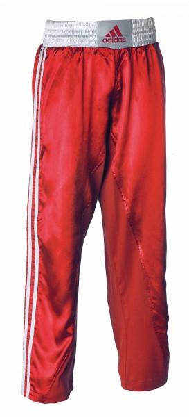 adidas Kickbox-Hose rot/weiß, adiKBUN110T
