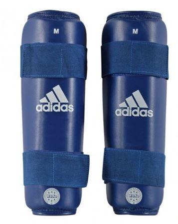 adidas Schienbeinschutz blau, WAKO, ADIWAKOSG01