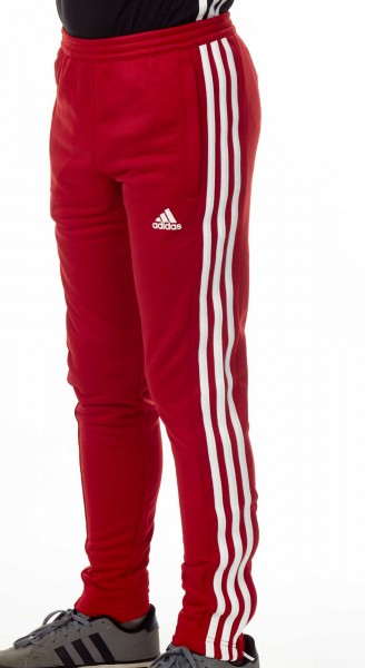 adidas T16 Team Sweat Hose Kids power rot /weiß AJ5388