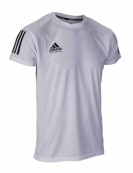 adidas Kickbox-T-Shirt Basic weiß/schwarz, adiKBTS100