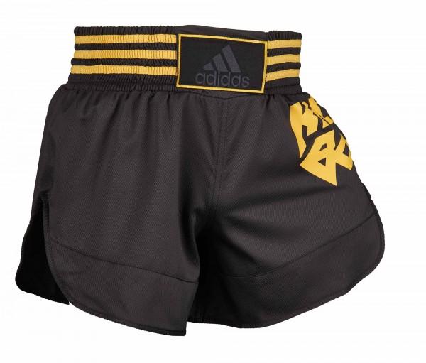 adidas Kick Boxing Shorts schwarz/gold, ADISKB02