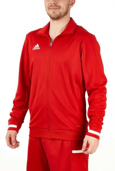 adidas T19 Trekking Jacket Männer rot/weiß, DX7323