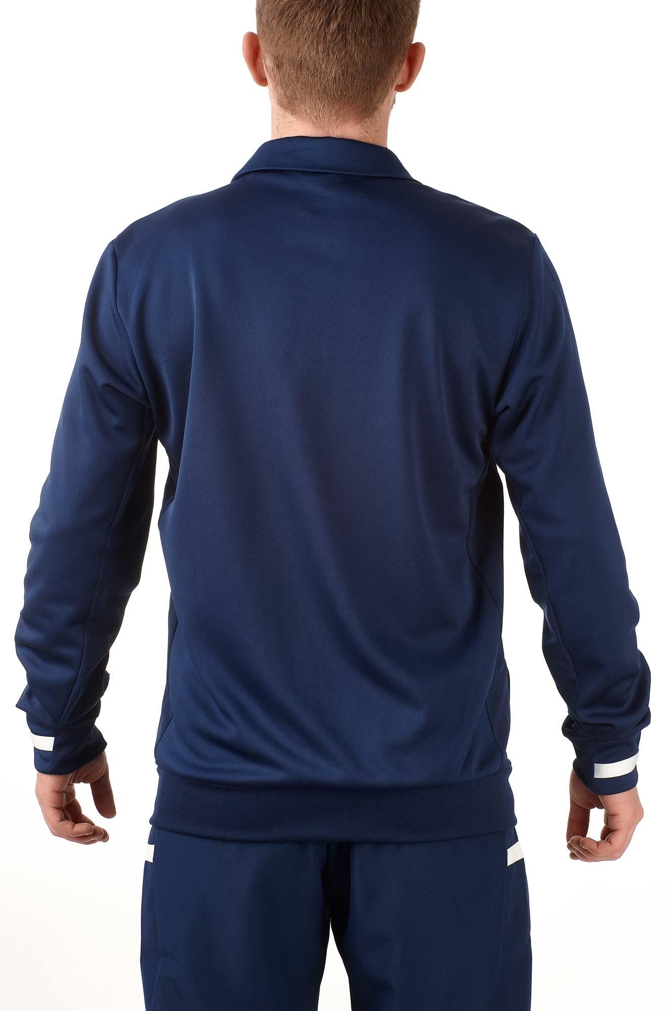 adidas T19 Trekking Jacket Männer blauweiß, DY8838