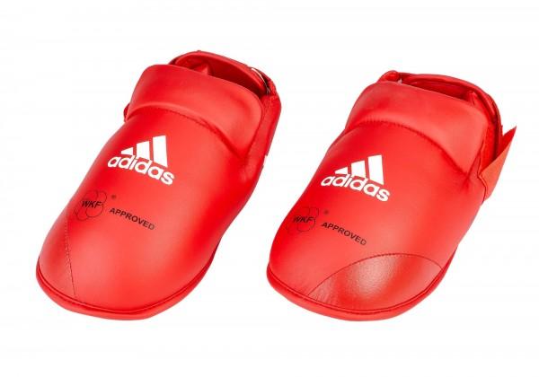 adidas Fußschutz Kunstleder rot, WKF approved, 661.50