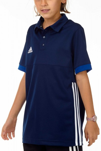 adidas T16 Team Polo Kids navy blau /weiß AJ5246