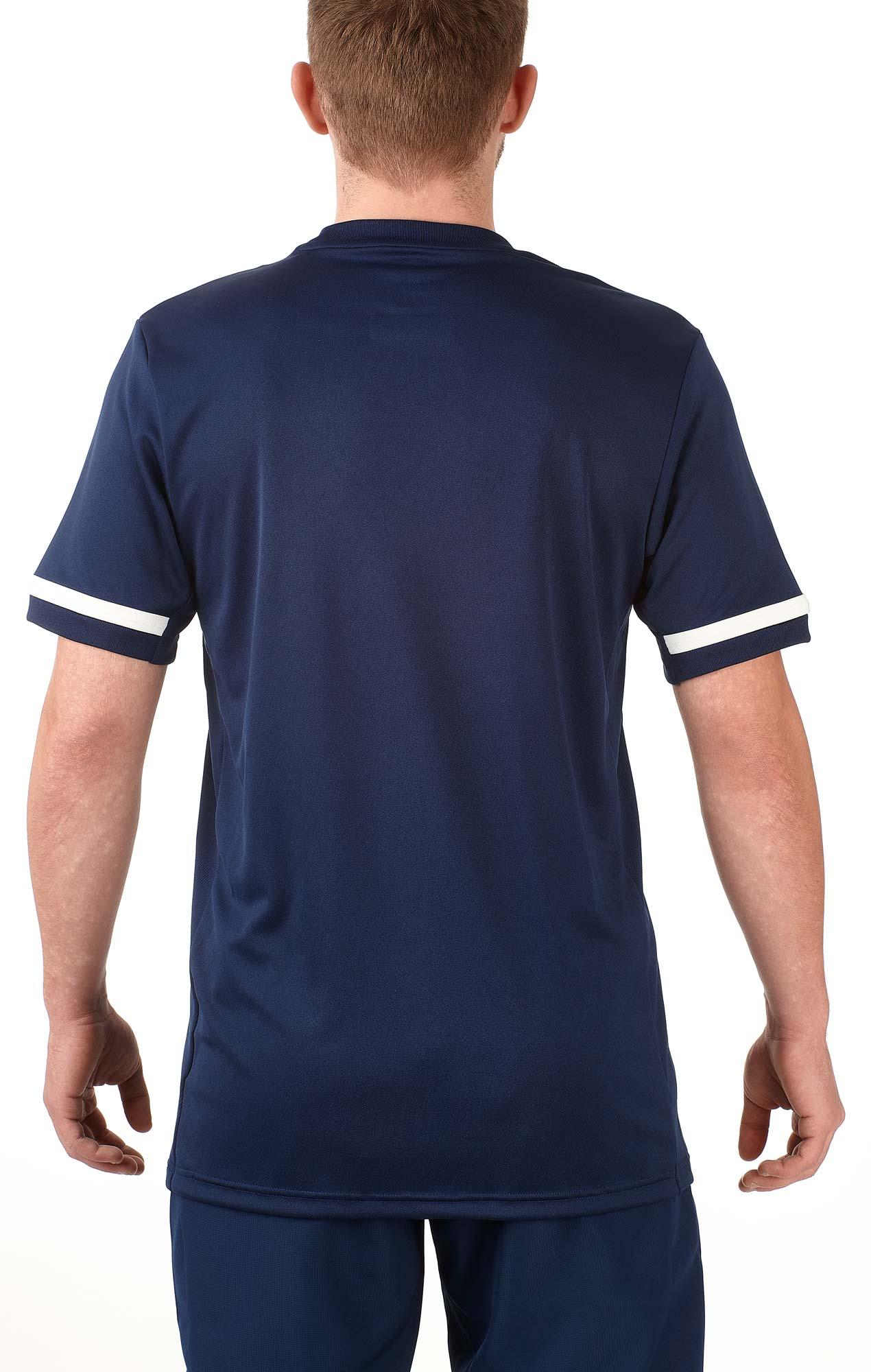 adidas T19 Shortsleeve Jersey Männer blauweiß, DY8852