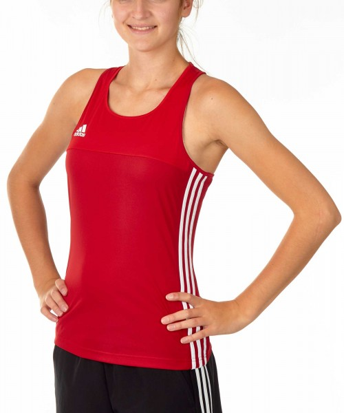 adidas T16 Clima Cool Tank Damen power rot/scarlet rot AJ5455