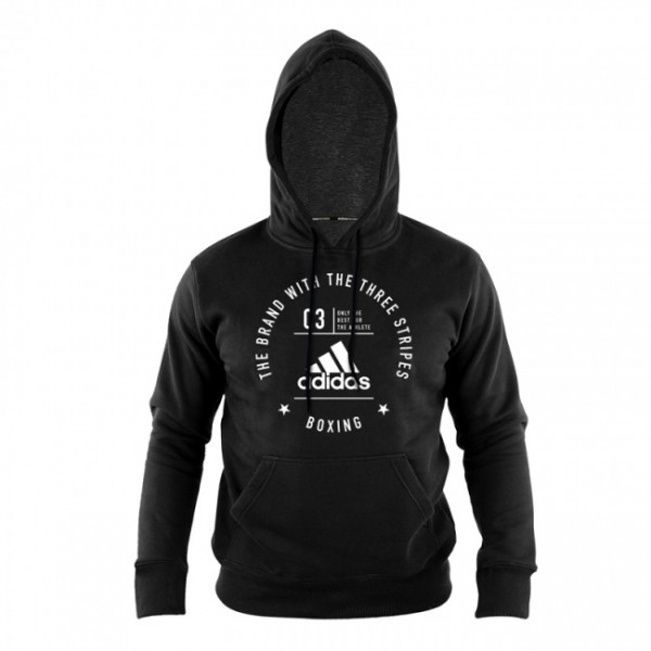 "adidas Community Hoody ""BOXING"" black/white, adiCL02B"