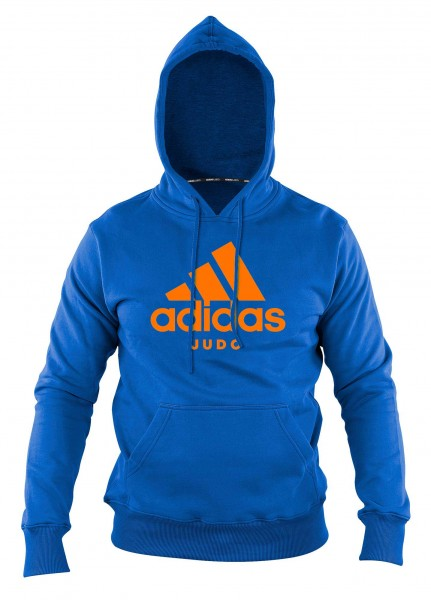 "adidas Community line Hoody Judo ""Performance"" light blue/orange, ADICHJ"
