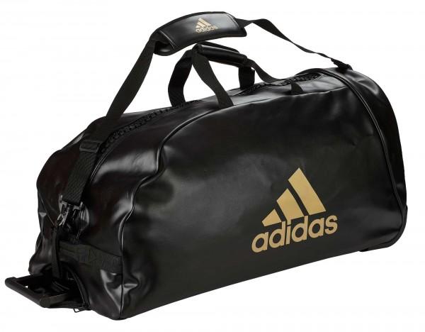 """adidas Trolley """"martial arts"""" black/gold PU, adiACC056"""