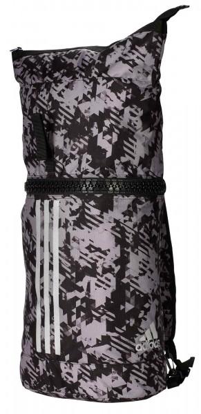 "adidas Military Bag ""martial arts"" Nylon black/camo silver, adiACC043"