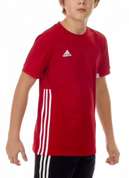 adidas T16 Team Tee Kids power rot /weiß AJ5299