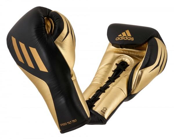 adidas SPEED TILT 750pro Boxhandschuh, schwarz/gold metallic, SPD750FG