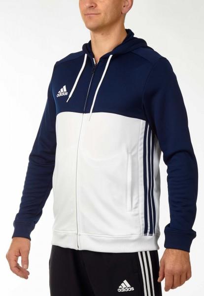 adidas T16 Team Hoodie Männer navy blau /weiß AJ5410