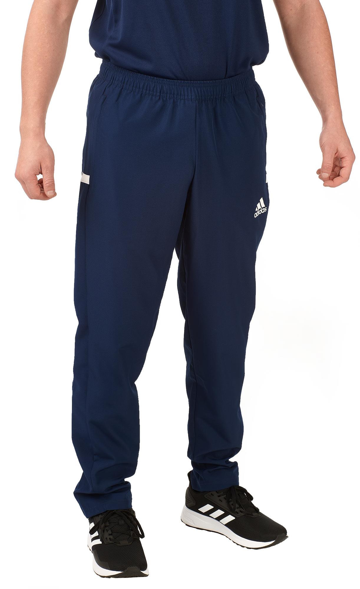 adidas T19 Woven Pants Männer blauweiß, DY8794