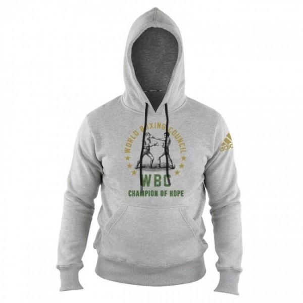 adidas WBC Boxing Hoody Heritage - grey, adiWBCH01