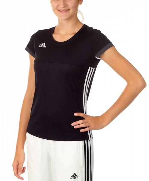 adidas T16 Team Team Tee Damen schwarz /weiß AJ5301