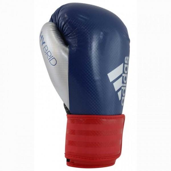 adidas Boxhandschuhe Hybrid 75, ADIH75, blau/rot/schwarz