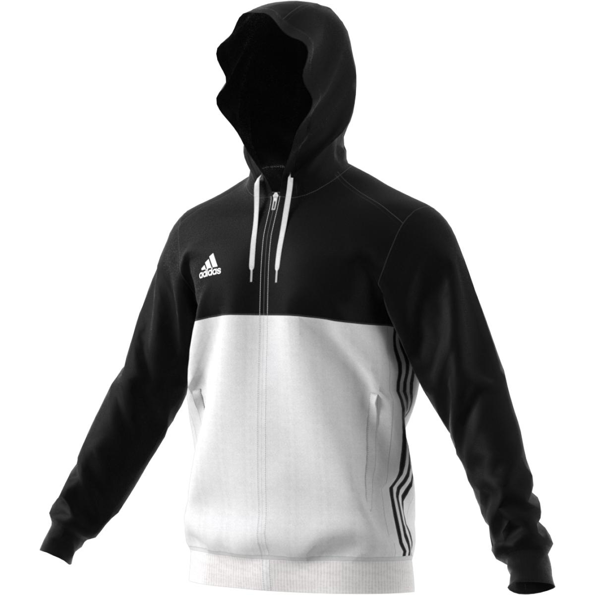 zuverlässige Leistung neue hohe Qualität neues Hoch adidas T16 Team Hoodie Männer schwarz/weiß AJ5409