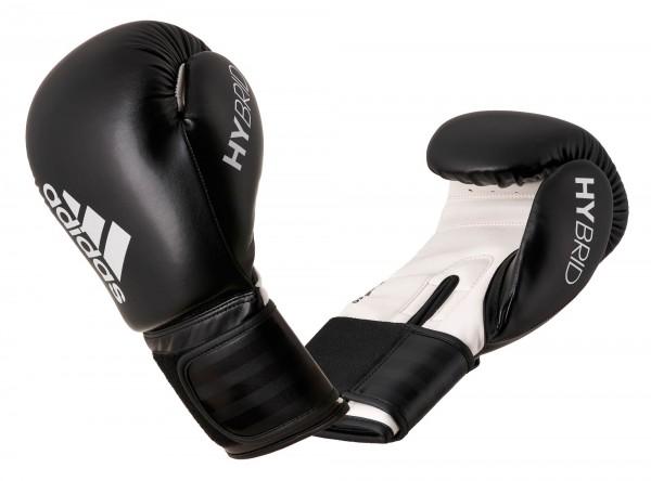 adidas Boxhandschuhe Hybrid 50, schwarz/weiß, ADIH50