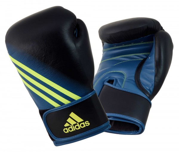 adidas Boxhandschuhe Speed 300, black/solar yellow ADISBG300