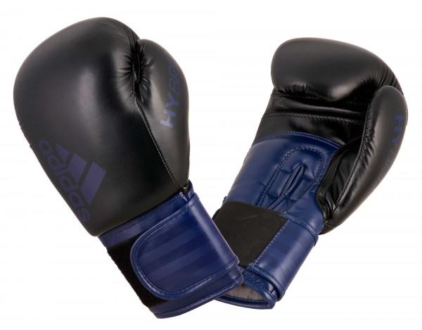 adidas Boxhandschuhe Hybrid 100, schwarz/myst. blau, ADIH100