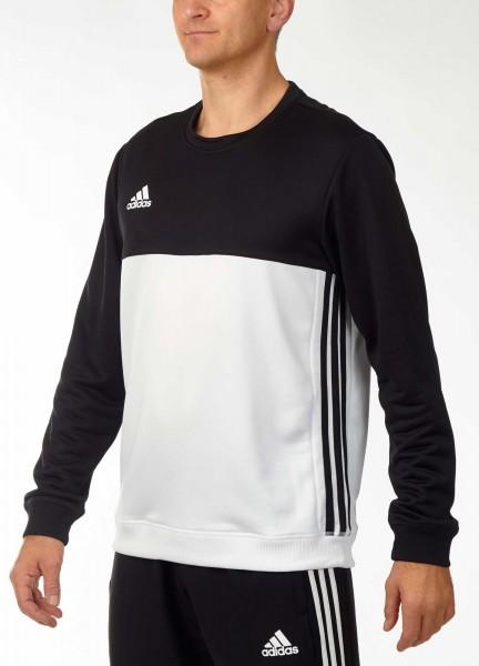 adidas T16 Team Sweater Männer schwarz / weiß AJ5418