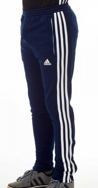 80596b028cee0d adidas T16 Team Sweat Hose Kids navy blau  weiß AJ5387