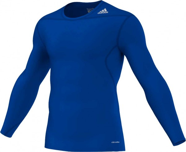 adidas Techfit Base Longsleeve royal-blue (D82062)