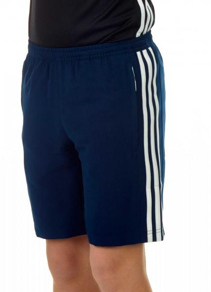 adidas T16 Clima Cool Woven Short Jungen navy blau/weiß AJ5286