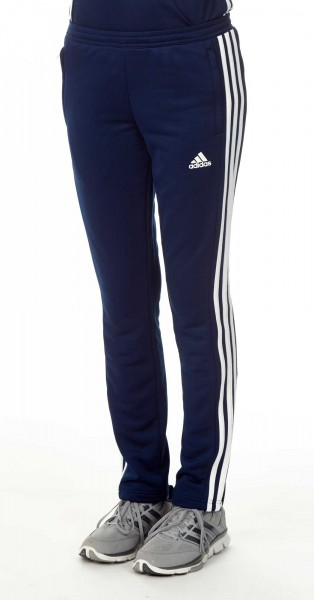 adidas T16 Team Sweat Hose Damen navy blau /weiß AJ5391