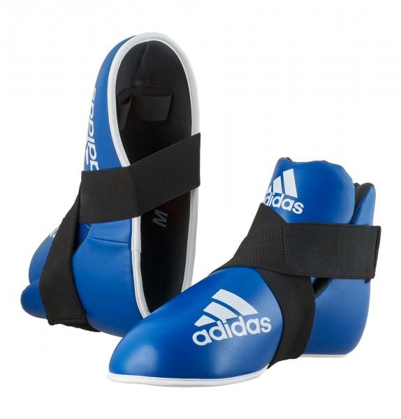 adidas Pro Kickboxing Fußschutz blue, adiKBB100