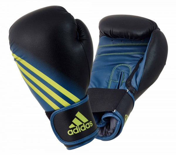 adidas Boxhandschuhe Speed 100, black/solar yellow ADISBG100
