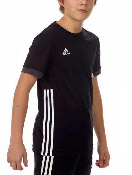 adidas T16 Team Tee Kids schwarz /weiß AJ5297