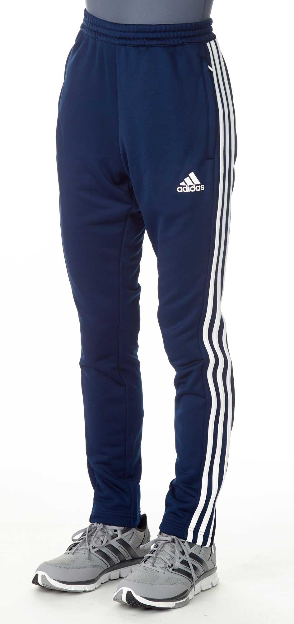 adidas T16 Team Sweat Hose Männer navy blau weiß AJ5396
