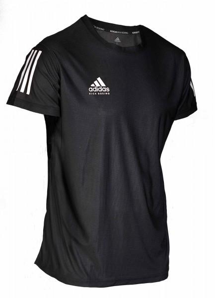 adidas Kickbox-T-Shirt Basic schwarz/weiß, adiKBTS100