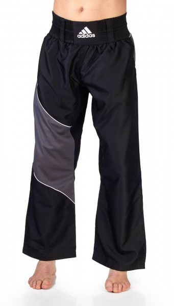 adidas Kickbox-Hose schwarz/grau ADITU010T