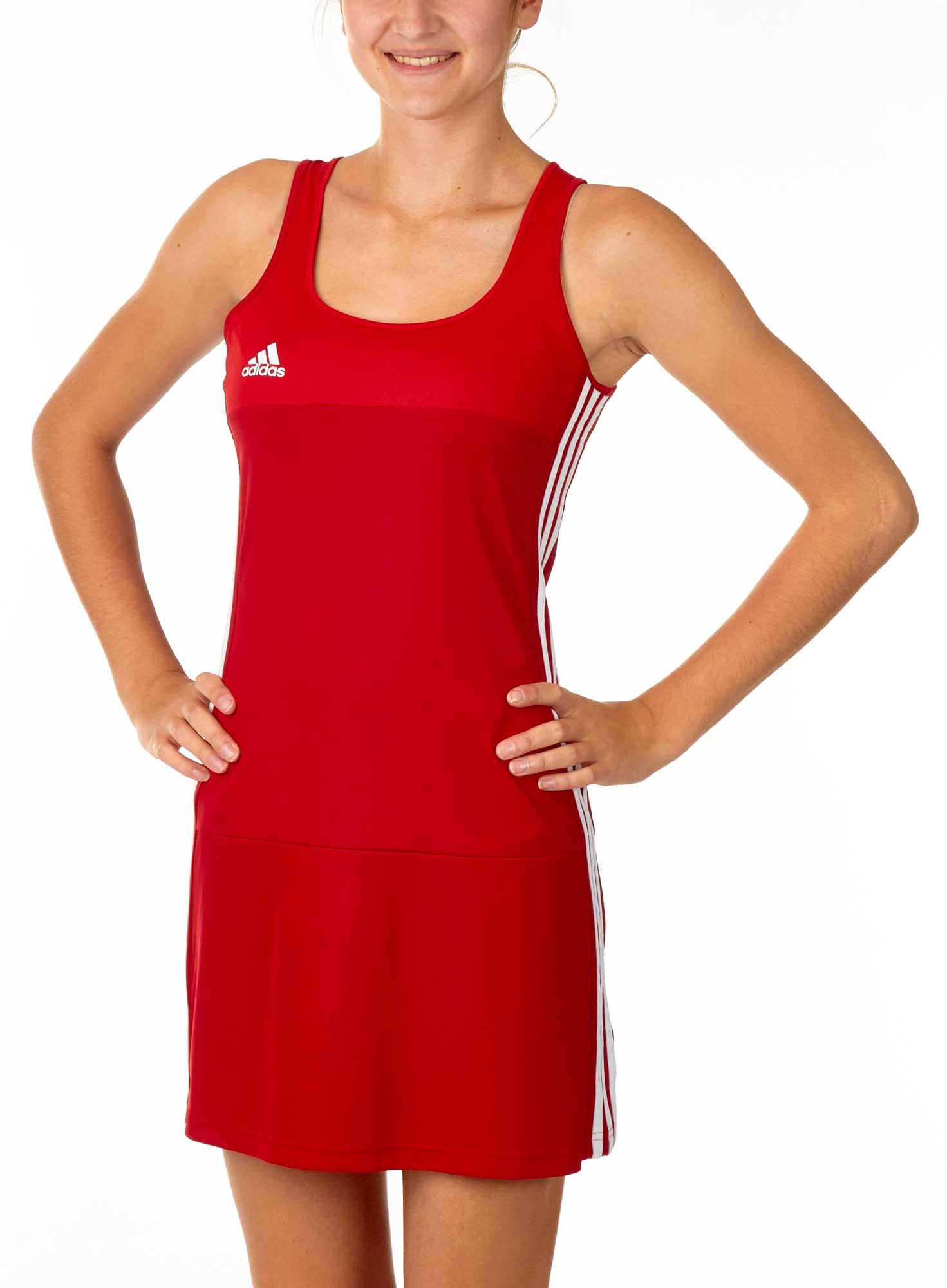 adidas T16 Clima Cool Dress Damen power rot scarlet rot AJ5263