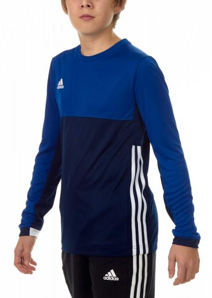 adidas T16 Clima Cool Longsleeve Jungen navy blau/royal blau AJ5237