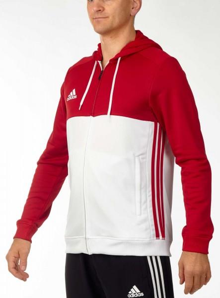 adidas T16 Team Hoodie Männer power rot /weiß AJ5411
