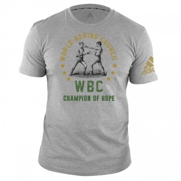 adidas WBC T-Shirt Champ of Hope - grey, adiWBCT01