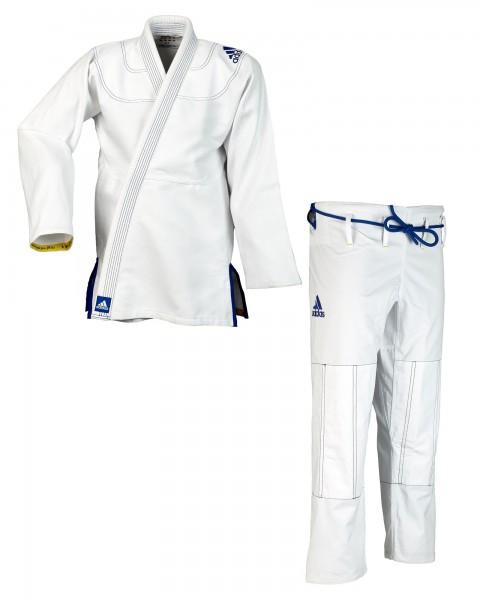 "adidas BJJ Anzug ""Challenge 2.0"" weiß JJ350"