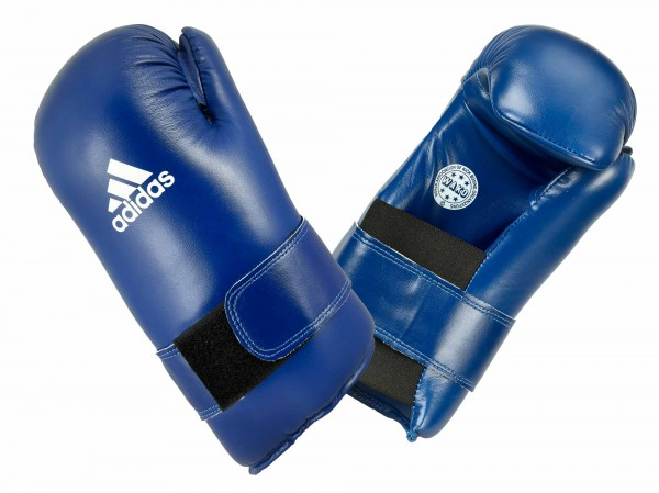 adidas Semi Contact Gloves - blue, ADIWAKOG3